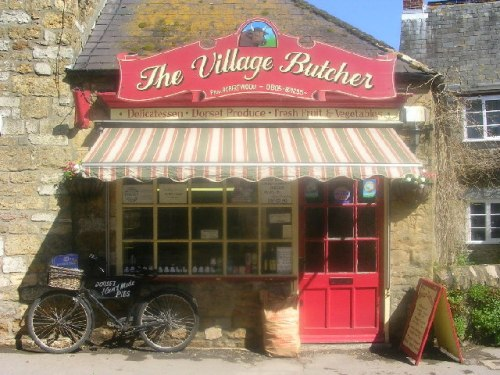 The Village Butcher by Richard Slessor